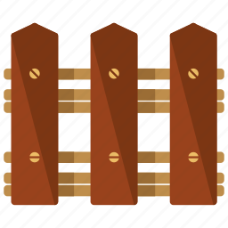 construction, estate, feature, fence, real, wooden icon
