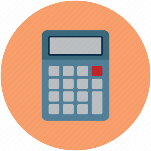 arithmetic, calculation, calculator, digital calculator, electronic calculator, mathematical icon