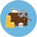 lock, money, payment, payment safe, wallet icon