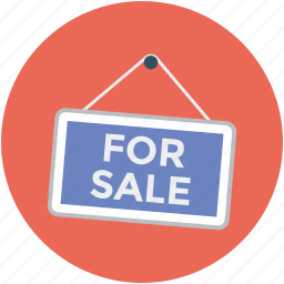 for sale, for sale lable, for sale sign, lable, property for sale, real estate, sign icon
