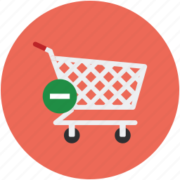 cart, delete, delete to cart, eject, eject to cart, remove cart icon