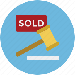 property service, property sold, real estate, sell label, sold, sold sign icon