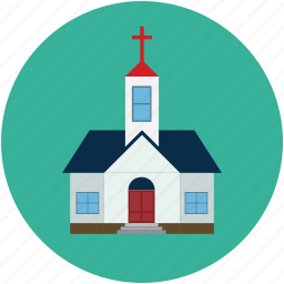 christian house, church, church building, church home, home icon