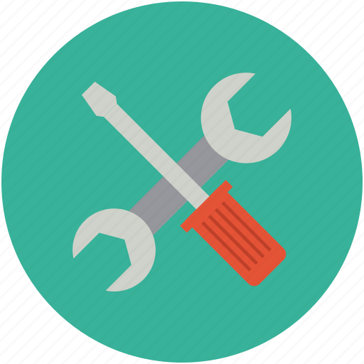 repair, screwdriver, settings, setup, tools, wrench icon