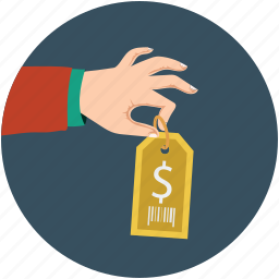 dollar, dollar sign, dollar tags, for sale, price tag icon