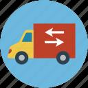 delivery van, delivery vehicles, real estate, van, vehicle icon