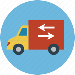 delivery van, delivery vehicles, real estate, van, vehicle icon