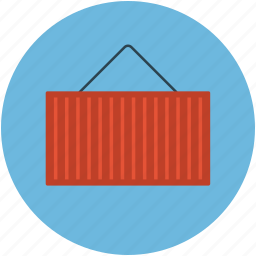 box, container, container box, container with strap, real estate icon