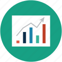 analytics, bar chart, chart, diagram, graph, growth chart, real estate chart icon