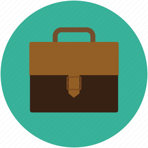 bag, briefcase, business bag, case, gladstone bag, luggage, suitcase icon