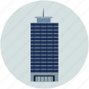 bank building, building, financial center, office, shopping building, trade center, world trade icon