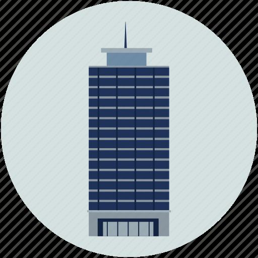 bank building, building, financial center, office, shopping building, trade center, world trade icon