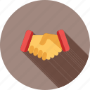 agreement, deal, friends, handshake, partnership, success, teamwork icon