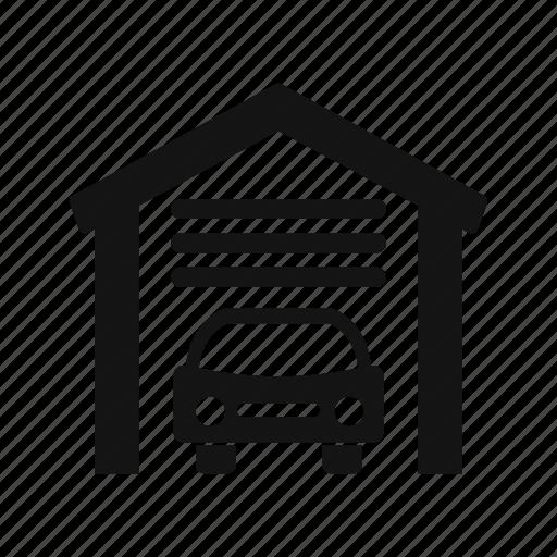 Car garage, parking, garage icon - Download on Iconfinder