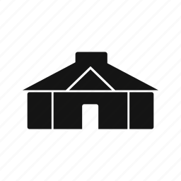 hut, tent, yurt icon