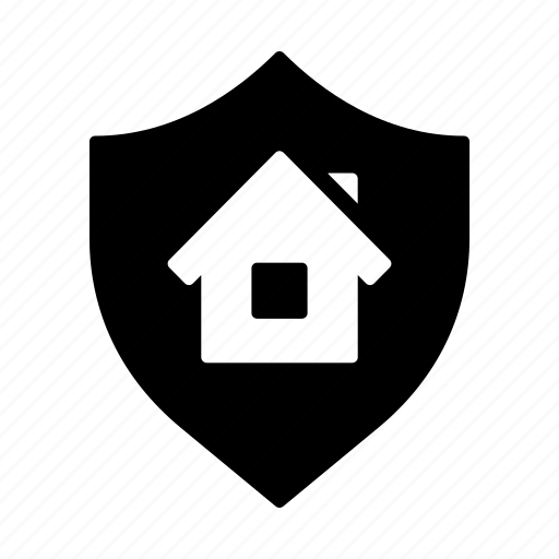 House, house insurance, protection, real estate, security, shield icon - Download on Iconfinder