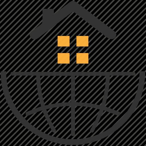 architecture, building, company, estate, real icon