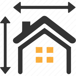 architect, architecture, building, measurements, property icon
