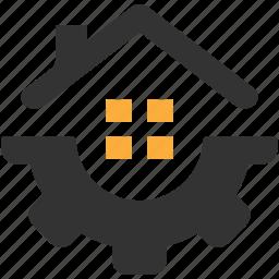 development, home, house, improvements, painting, repair icon