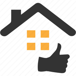 apartment, building, estate, feedback, house, property, real icon