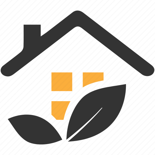 Building, estate, garden, hone loan, house, plant, real icon - Download on Iconfinder