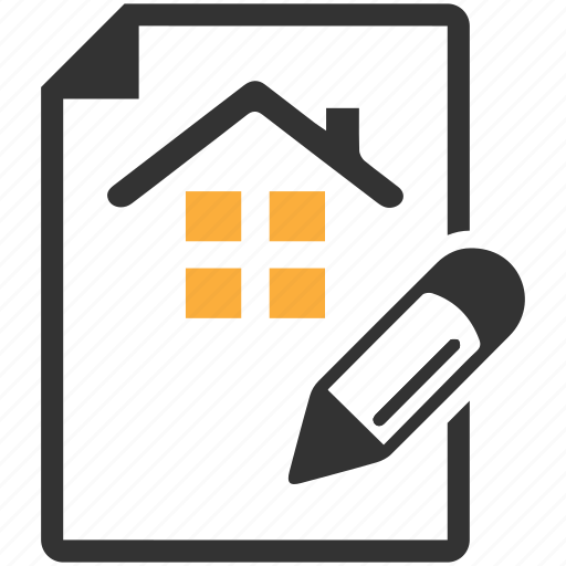 Agreement, contract, estate, house, loan papers, real icon - Download on Iconfinder