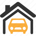 car, garage, vehicle icon icon