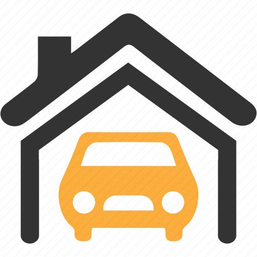 car, garage, vehicle icon icon