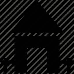apartment, home, house, shack, villa icon