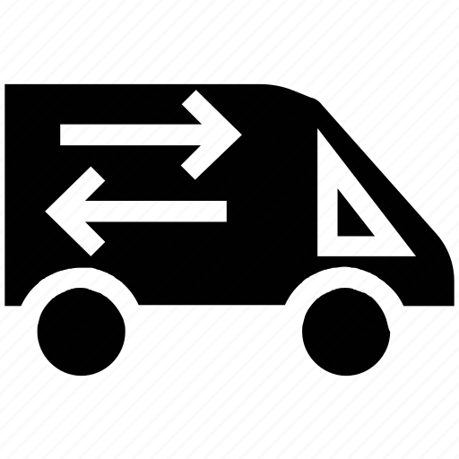 delivery, delivery van, logistic, transport, truck icon