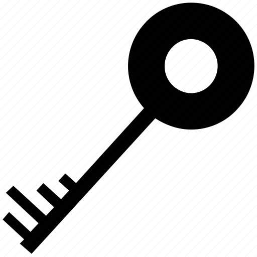key, password, retro, safe, secure sign, vintage key icon