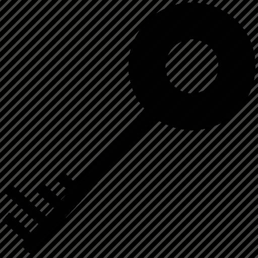 key, password, retro, safe, secure sign, vintage key icon
