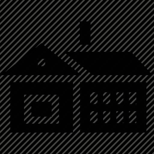 building, home, house, real estate, villa icon