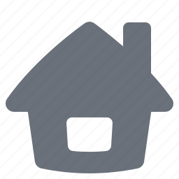 home, house, pika, real estate, simple icon