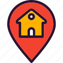 estate, locationpinmap, real, real estate