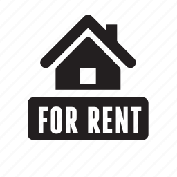 advertisement, for rent, home, house, real estate, rent, rent ad icon