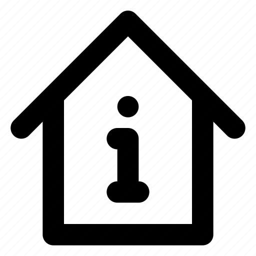 city, estate, home, house, housing, information, real icon