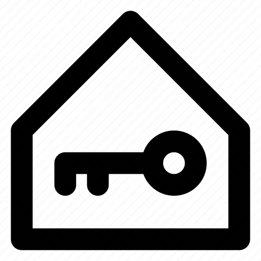 city, estate, home, house, housing, key, real icon