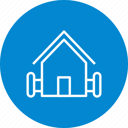 Barn, hut, farm house icon - Download on Iconfinder