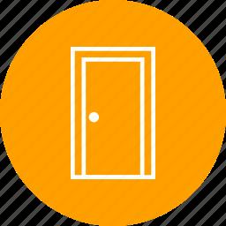 door, front door, gate, house door, office door, open door, wooden door icon