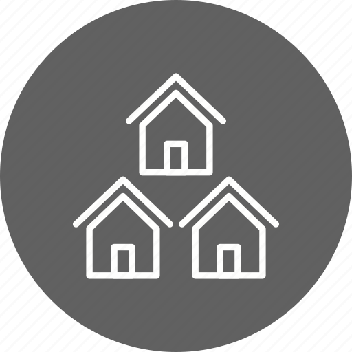 Community, neighbors, houses icon - Download on Iconfinder