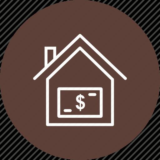 house, price, value icon