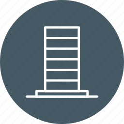 building, cityscape, office building, sky clouds, skyscape, skyscraper, tower icon