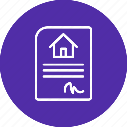 buy home, buy house, contract, horse silhouette, house, new home, signing contract icon