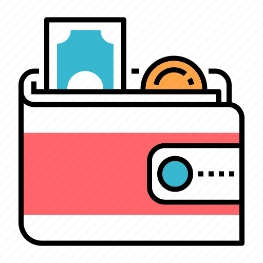 budget, cash, investment, money, payment, profit, wallet icon