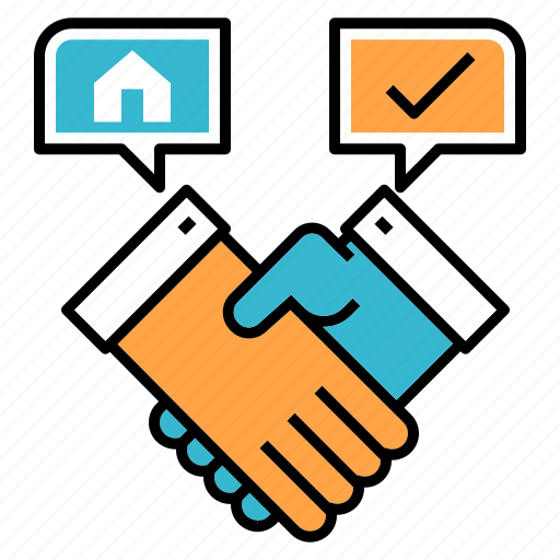 buying, deal, estate, house, property deal, purchase, realtor icon