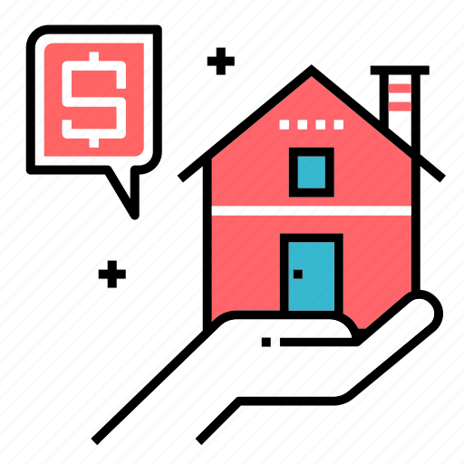 estate, house, investment, property, purchase, real estate, sale icon