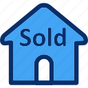 house, property, real estate, sold