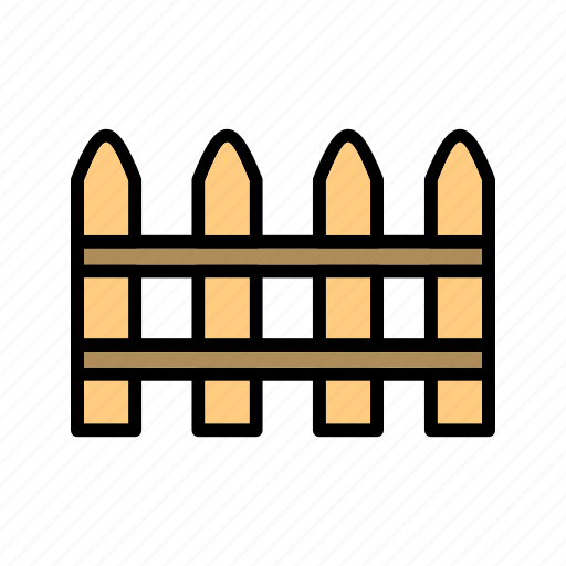 fence, hedge, palisade, picket fence icon