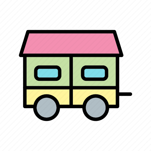 container house, home, house, mobile icon